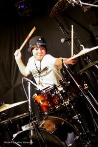Yukichika Drums Photo by Y.Watanabe