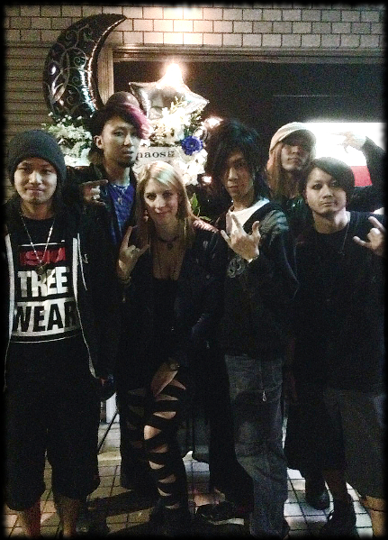 Group Picture Julia with Vorchaos Nov 8 2014